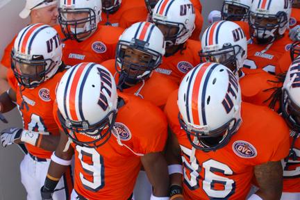 Tigers Wearing White Skyhawks Wearing Orange